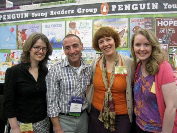 Erin Murphy Literary agents with author Phil Bildner