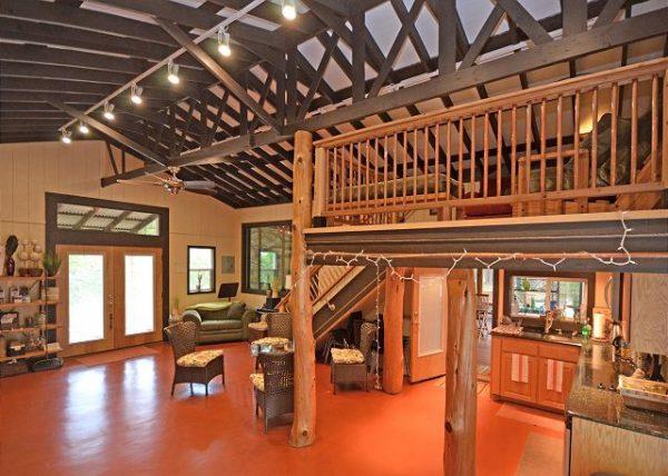 Inside the Writing Barn