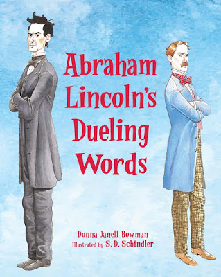 Cover Reveal: Donna Janell Bowman on Abraham Lincoln's Dueling Words