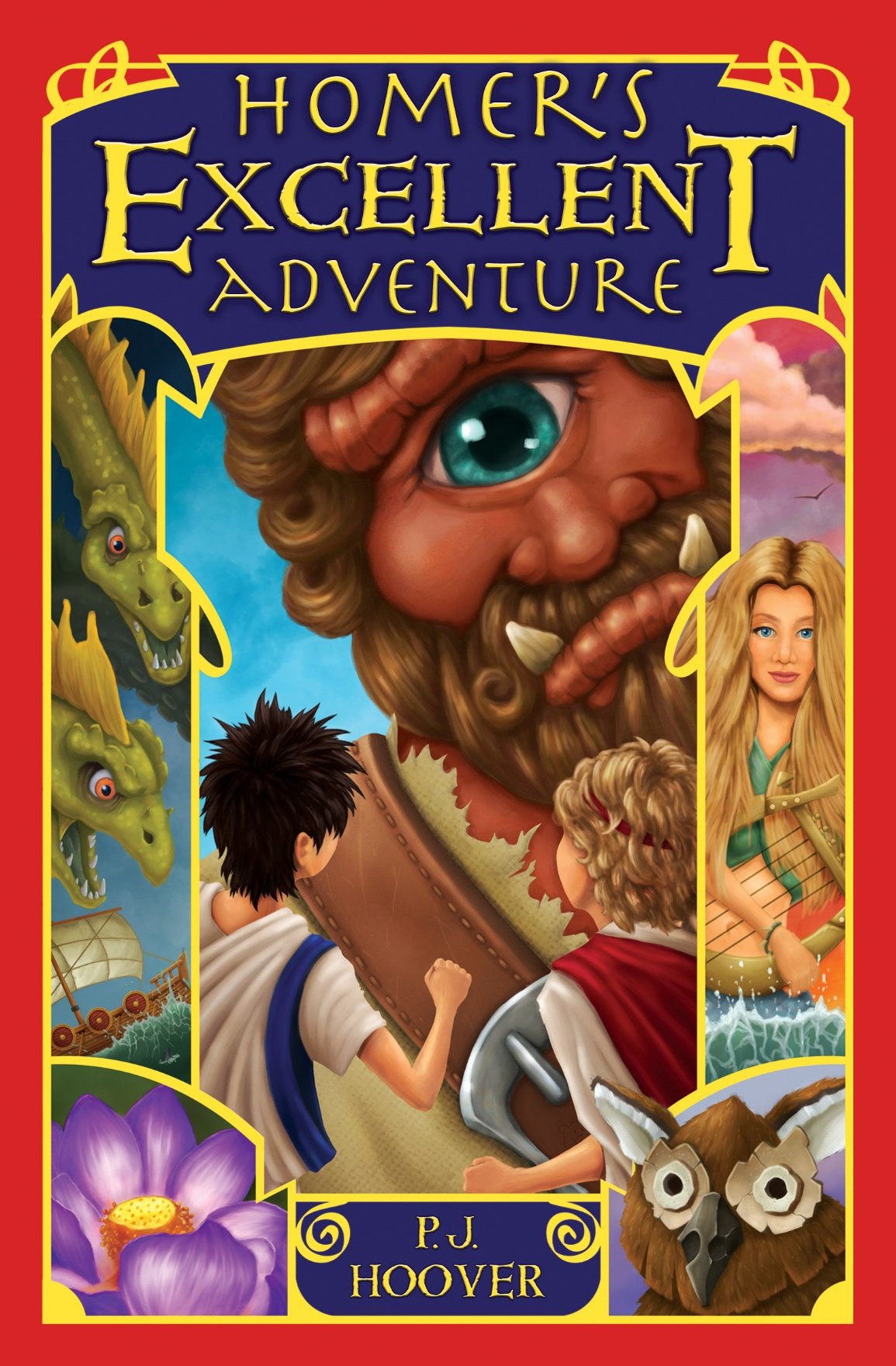 Guest Post: Author P.J. Hoover on Adapting Mythology for Today's Young Readers